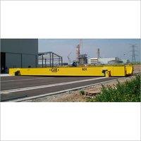 Rail vehicle transfer cart