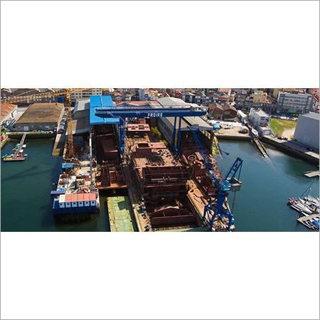 Shipyards Cranes