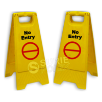 Caution Board- No Entry