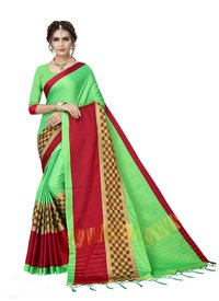 Butter silk saree