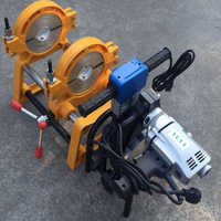 HDPE Butt Fusion Welding Machine Manual 2 Clamp