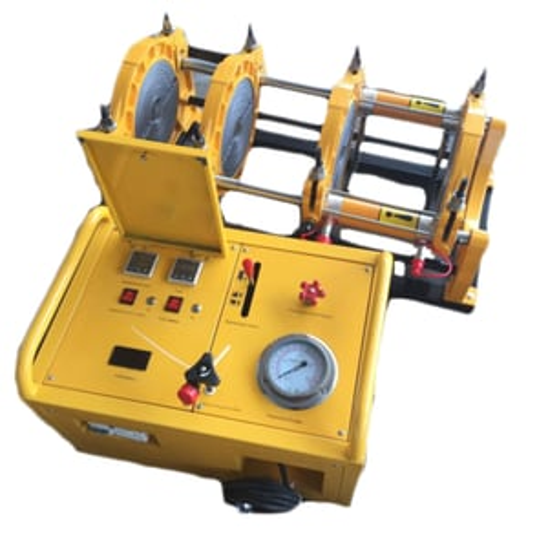 Hdpe 200mm Hydraulic Pipe Jointing Machine Semi Automatic