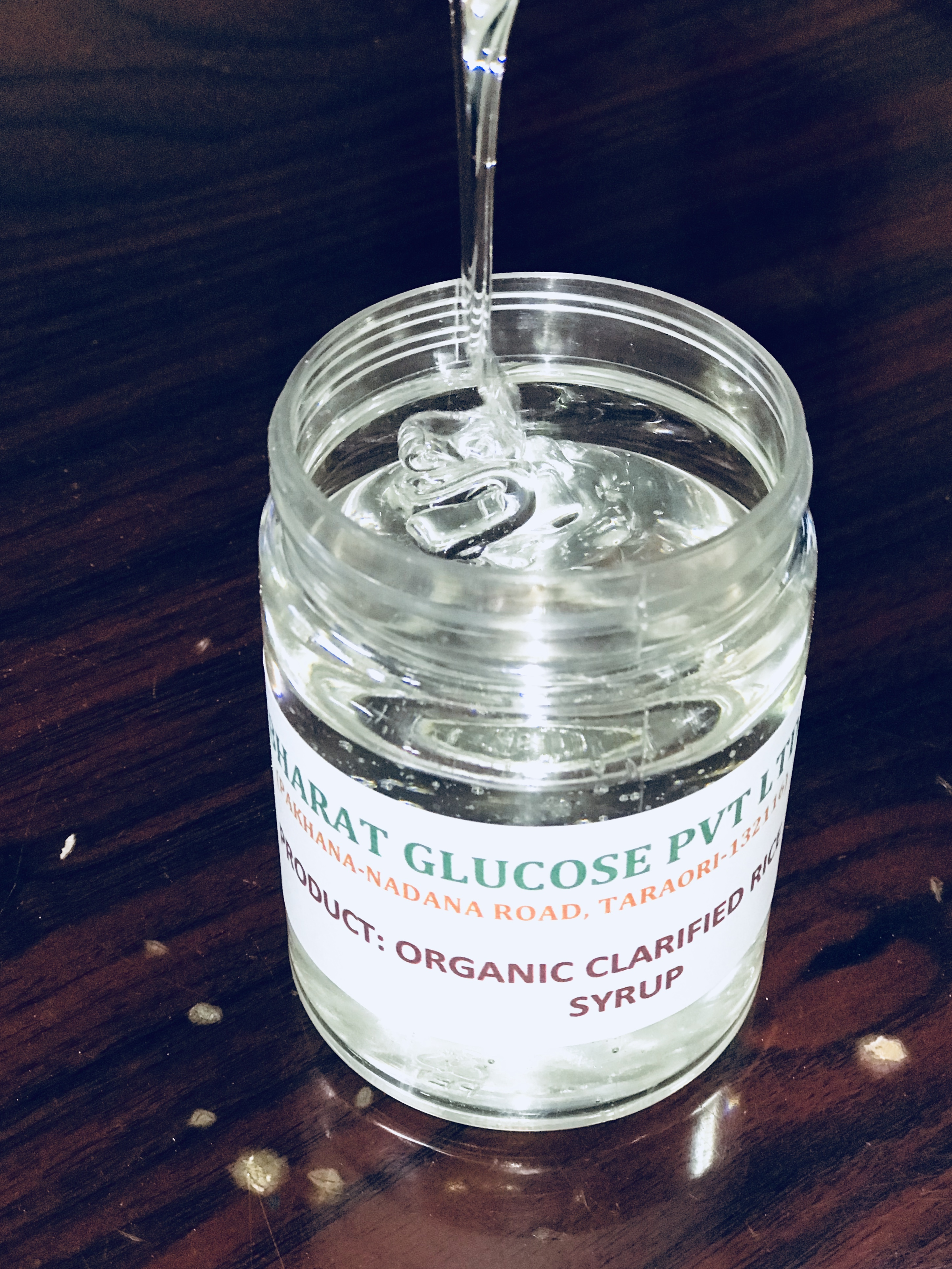 Organic Clarified Rice Syrup