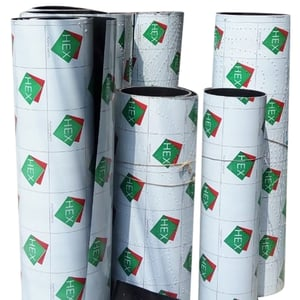 Black White Poly Roll Sheets