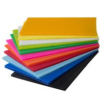 PP Hollow Corrugated Sheet