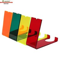 Rasper Multicolor Acrylic Display Stand SSS7103 (Pack Of 12 Pcs)