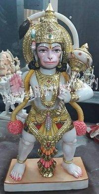 Marble Hanuman Sculpture