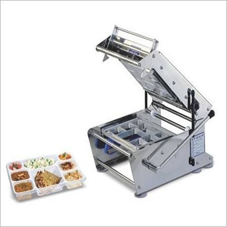 METAL TRAY SEALING MACHINE