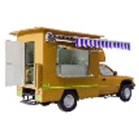 Customized Food Van Body