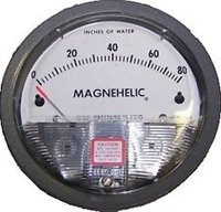 Dwyer USA Model 2025 Magnehelic Gage Range 0-25 Inch WC