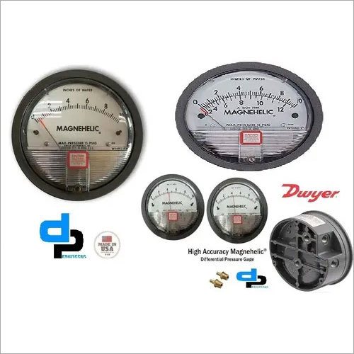 Dwyer USA Model 2010 Magnehelic Gage Range 0-10 Inch WC