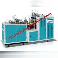 Dual 5 HP Ultra Sonic Paper Cup Machine