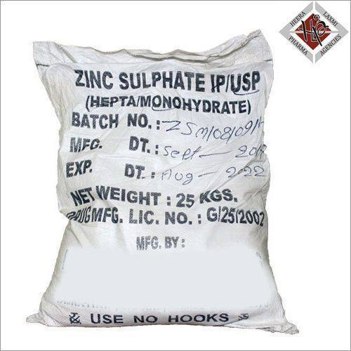 Zinc Sulphate Hepta Monohydrate I.P/U.S.P