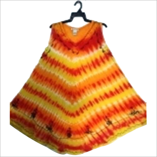 Multi-color Rayon Dress