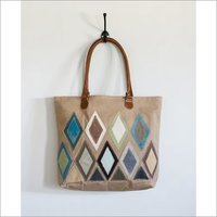 Vintage Patching Canvas Bag