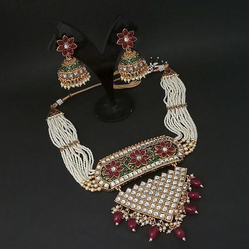 Artificial Kundan Necklace