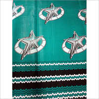 Star Print Mozambique Fabric