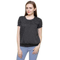 Mythya Ladies Polka Ballon Top