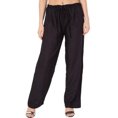 Mythya Ladies Black Trousers
