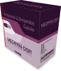Pantoprazole 40mg+ Domperidone 30mg(sr)