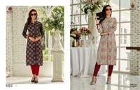 Modern Cotton Printed Kurtis