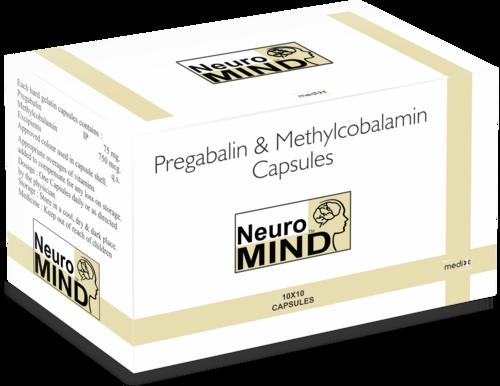 Pregabalin 75MG+ Methylcobalamin 750MCG