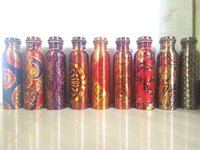 Design Printed Copper Bottle