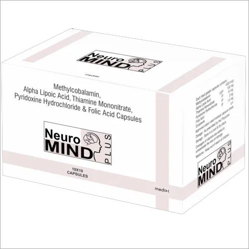 Methylcobalamin,  Pyridoxine & Folic Acid Capsule