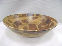 WOODEN DEEP BOWL TAPERED