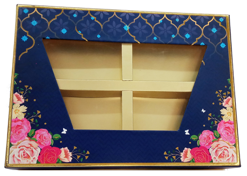 Imperial window 4 part dry fruit box