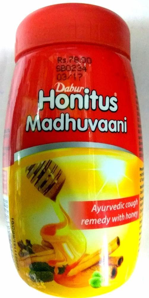 Dabur Honitus Madhuvaani - 150g - Ayurvedic remedy for Cough