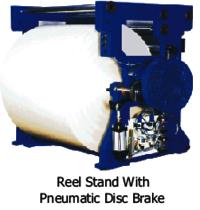 Pneumatic Disk Brake Reel Stand