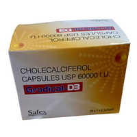 60000 IU Cholecalciferol Capsules