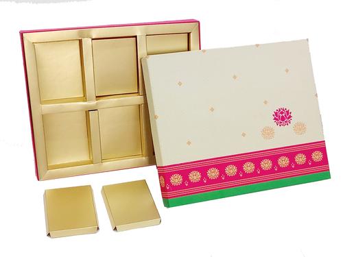 Indus 6 part dry fruit box