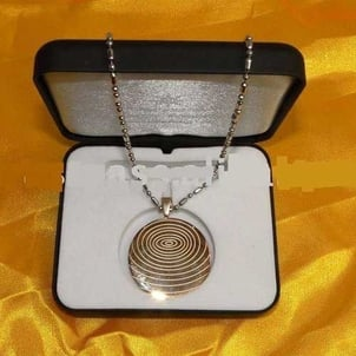 Anti Radiation Gold Pendant