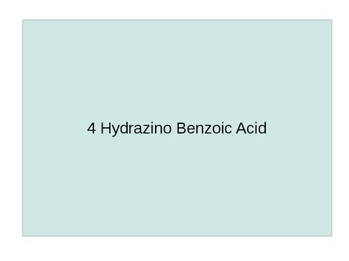 4 Hydrazino Benzoic Acid