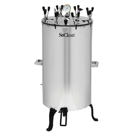 Electrical Stainless Steel Vertical Autoclave