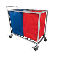 Medical Linen Trolley