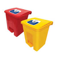 Foot Paddles Waste Bins