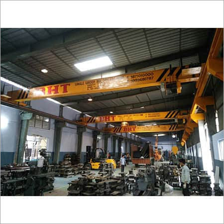 EOT CRANE  (DOUBLE SINGLE GIRDER BOX TYPE)