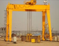 DOUBLE GIRDER BOX TYPE GOLIATH CRANE