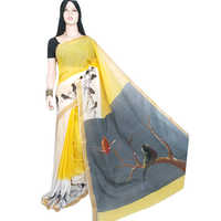 Ladies Chapa Cotton Saree