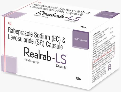 Rabiprazole 20mg+ Levosulpride 75 mg