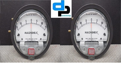 Dwyer 2215 Magnehelic Differential Pressure Gauge 0-15 PSI