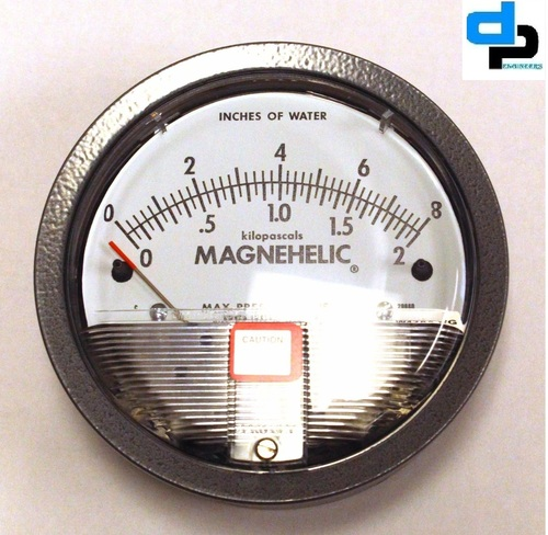 Dwyer USA Model 2008 Magnehelic Gage Range 0-8.0 Inch WC