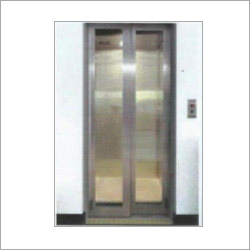 Glass Center Opening Door Elevator