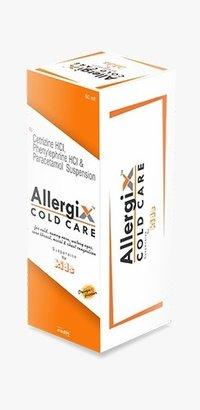 Para 125mg ,phenylphrine 2.5mg, cetrizine2.5 mg (orange)