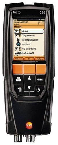Flue Gas Analyzer (TESTO-320)