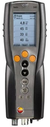 Flue Gas Analyzer (TESTO-340)