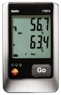 Four Channel Temp. Data Logger (TESTO-176T4)